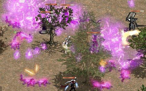 妖精の森の火ゾーン